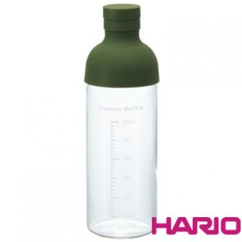 【HARIO】酒瓶墨綠調味瓶300 CKB-300-OG
