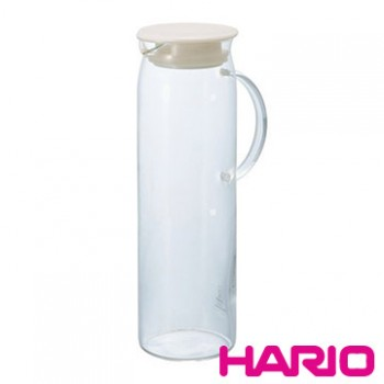 【HARIO】米白把手冷水壺1000ml HDP-10PW