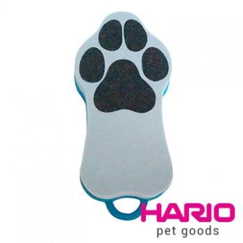 HARIO 寵物專用硬毛藍色兩面刷 PTS-GRH-BU