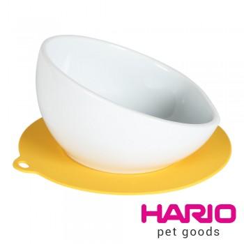 HARIO 中型犬專用黃色陶瓷小碗  PTS-MA-MY