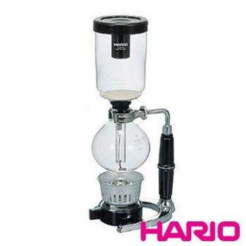【HARIO】經典虹吸式3咖啡壺3杯360ml TCA-3