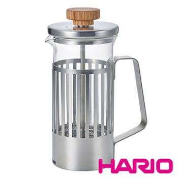 【HARIO】光影之間濾壓茶壺2杯  THT-2MSV