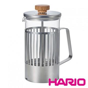 【HARIO】光影之間濾壓茶壺4杯  THT-4MSV