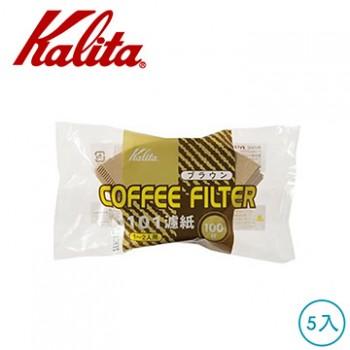 Kalita NK101無漂白濾紙 100枚入 5包 #11107