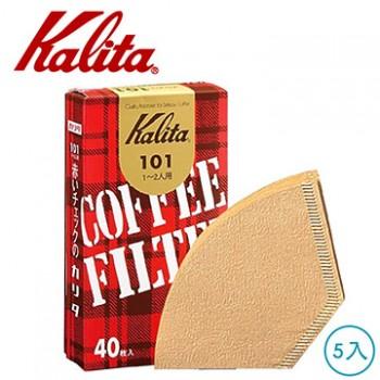 Kalita 無漂白101盒裝濾紙 5盒 #11141