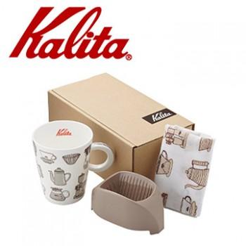 Kalita咖啡馬克濾杯組合(咖啡棕) #73115