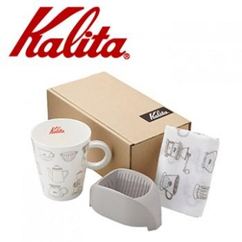 Kalita咖啡馬克濾杯組合(大象灰) #73116