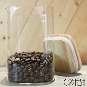 COFESH 木質保鮮罐1000ml MCN-1000-M
