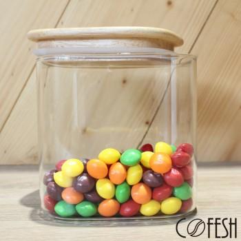 COFESH 木質保鮮罐600ml MCN-600-M
