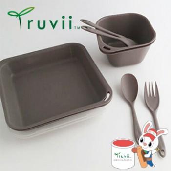 Truvii 岩石灰抗菌餐具組( 附網袋 )
